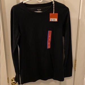 NWT Mossimo black long sleeve shirt